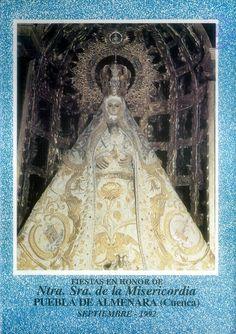 Fiestas en Puebla de Almenara (Cuenca), en honor de la Virgen de la Misericordia. Del 5 al 12 de septiembre de 1992. #Fiestaspopulares #PuebladeAlmenara #Cuenca