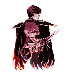 Hikaru and Lantis, Magic Knights Rayearth