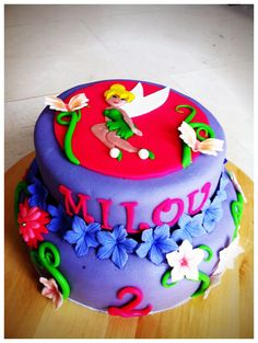 Tinkerbell birthday cake - Torte per Tutti