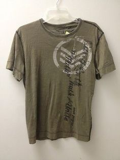 M Express Green Print T-Shirt