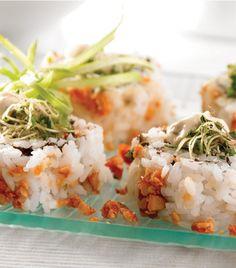 Aprende a preparar un sushi delicioso y muy diferente a los que conoces.