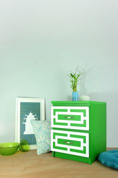 Bring some sunshine into your home with our Harper Thick featured with Enchanting Green velvet paint by @VevetFinishes You like? #myoverlays #ikea #ikeahacks #interiordesign #style #diy #VevetFinishes Find it Here: http://www.myoverlays.com/harper-thick-overlay-kit-for-ikea-malm-3-drawer