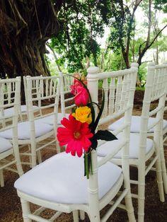 Wedding chairs decor