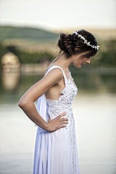 Wedding Boho White Dress
