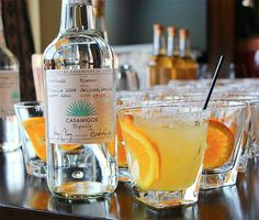 George Clooney's Casamigos Tequila - A high-quality, 100% Blue Weber agave tequila made by master distillers in Jalisco, Mexico. Clooney's new Casamigos Tequila comes in 2 flavors, Blanco and Reposado and both are smooth enough for sipping straight-up. | Werd