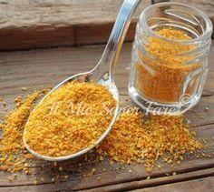Polvere di buccia di arancia  Buccia di arancia essiccata blog il mio saper fare