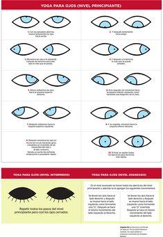 Yoga para ojos. ¡Te ayudará con la vista cansada! | Revista CiudadYOGA