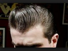 Mr DuckTail style cup hair Rockabilly