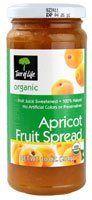 Tree of Life Organic Fruit Spread Apricot -- 10 oz - http://goodvibeorganics.com/tree-of-life-organic-fruit-spread-apricot-10-oz/