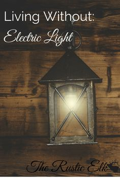 Ever drive yourself crazy when there is a blackout wondering how you could handle it if the lights went out for longer, or even permanently? You can become less dependent on electricity and electric light. Heres how to live without electric light. Off Grid Survival, Camping Survival, Emergency Preparedness, Survival Tips, Survival Skills, Survival Shelter, Permaculture Design, Living Off The Land, Emergency Lighting