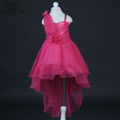 New Elegant High Low Trailing Flower Girl Dresses for weddings Party kids Children princess tutu dress Birthday/Pageant gowns Girls Pageant Dresses, Pageant Gowns, Butterfly Fashion, Gown Pictures, Princess Tutu, Dress Picture, Bridesmaid Dresses, Wedding Dresses, Birthday Dresses