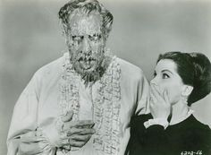 Debra Paget with Vincent Price