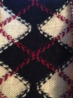 Crossing Colors in Intarsia tutorial via Knitting Fever Blog