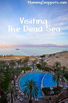 Visiting The Dead Sea #VisitIsrael