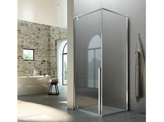 KAHURI Cabina de ducha de esquina by Glass 1989