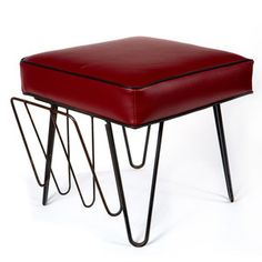 Iron Footstool, $159, now featured on Fab.