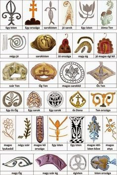 Hungarian Embroidery Ideas Old Hungarian Symbols