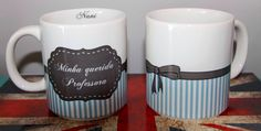 Caneca personalizada para presentear a professora Nani no dia do professor
