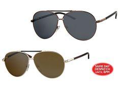 d9c719b578 Unisex Aviator style Sunglasses  Black