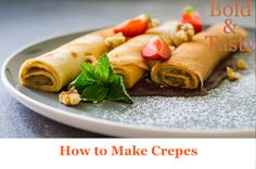 A method and Recipe for making crepes batter. #crepes #pancakes #food #dessert #breakfast #sweet #recipe #foodblog Hungarian Desserts, Hungarian Cuisine, Hungarian Recipes, Types Of Desserts, Fun Desserts, Risotto Recipes, Pasta Recipes, Hungary Food, Hungary Travel