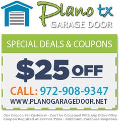 Welcome to our website! You have arrived at the premiere Plano Garage Door company in Texas. It is our pleasure to offer you the finest in garage door sales, service, repair and installation in the greater Plano TX area. Keep reading to see why local residents rate us tops for all their Plano Garage Door needs.