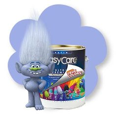 Guy Diamond Grey Troll Paint Easy Care Paint/Primer In One By True Value