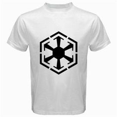 Star Wars Sith Empire Logo Men White T-Shirt via Greatest Gift