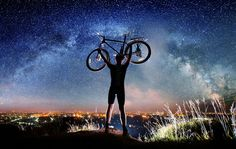 Ride Under the Full Moon http://www.bicycling.com/rides/adventure/your-2016-summer-cycling-bucket-list/slide/2