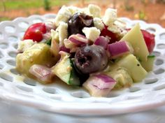 Greek Summer Salad. Photo by gailanng
