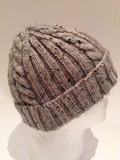 Ravelry  Ribs  n Cables Beanie by Anne Gagnon Knit Beanie Pattern d7cc772265b7