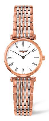 Longines Watch La Grande Classique de Longines Ladies #bezel-fixed #buckle-type-deployment #case-material-rose-gold-pvd #case-width-24mm #delivery-timescale-1-2-weeks #dial-colour-white #gender-ladies #luxury #movement-quartz-battery #official-stockist-for-longines-watches #packaging-longines-watch-packaging #subcat-la-grande-classique-de-longines #supplier-model-no-l4-209-1-91-7 #warranty-longines-official-2-year-guarantee #water-resistant-30m