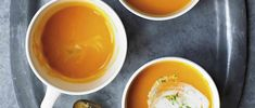 Sweet potato ginger and lime soup