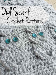 Crochet Owl Hat, Knitted Owl, Bead Crochet, Crochet Scarves, Crochet Crafts, Yarn Crafts, Crochet Baby, Crochet Projects, Washcloth Crochet
