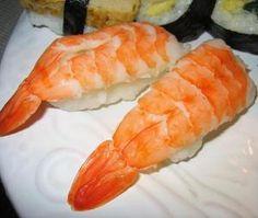 Cómo hacer nigiri de gambas #recetas #pescado #sushi
