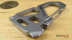 Silver Stainless Steel Versatile Tools Key Chain (Tower) / leismore selected #leismore