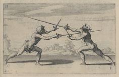 Ridolfo Capoferro - Rapier and dagger