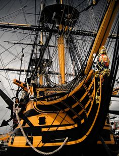 HMS Victory in Portsmouth, England