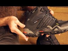 Adidas Outdoor Men's Terrex Fast X High GTX Hiking Boots - YouTube