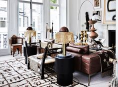 The London home of designer Malene Birger is absolutely packed with art. This light apartment in South Kensington isher home, art studio and workspace in one so it has to be a space where she can feel creative. Many items come from her travels, therefore creating a unique and personal atmosphere in her home.The apartmentmight …