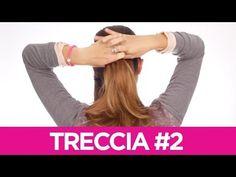 Come fare delle trecce particolari ai capelli 2 | Le Acconciature fai-da-te di Elisa | Tutorial - YouTube
