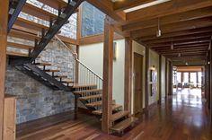 Timber Frame Interior Design - Normerica Authentic Timber Frame