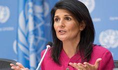 Nikki Haley, embajadora de EE.UU. en la ONU