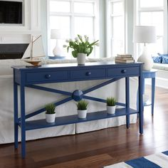 Low Tide Hall Table by Maine Cottage | Where Color Lives
