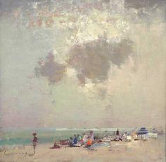 Cornish Beach, Fred Cuming