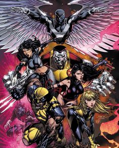 David Finch Gold! X-Men > Inhumans X>I Download at…