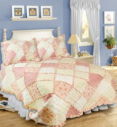 Country Cottage Quilt [18068] - $49.95 : Bright Life Australia