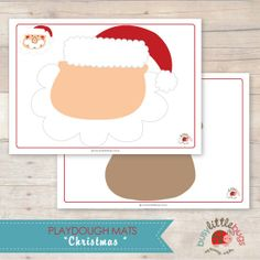 Christmas Playdough Mats AUTOMATIC DOWNLOAD by BUSYLITTLEBUGSshop, $7.95