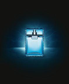 eau fraiche , versace man perfumes