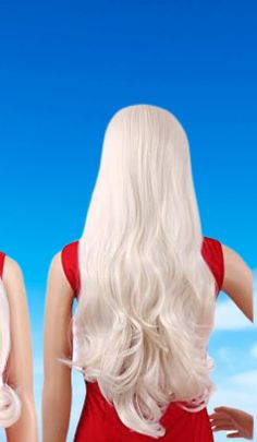 Tripal Hairs Platinum Blonde Wig Heat Resistant Synthetic Lace Front Wigs Natural Wavy #tripalhairs #hair #haircare Gold Blonde Hair, Blonde Wig, Platinum Blonde, Synthetic Lace Front Wigs, Hair Care, Natural, Beauty, Color, Golden Blonde Hair