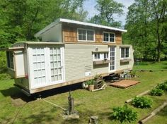 This Kirkwood Travel Trailer Tiny House on Wheels is for sale starting in June…